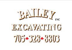 Bailey Excavating - Maple Leaf Cavan HL Sponsor
