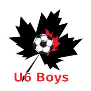 U6 Boys Registration