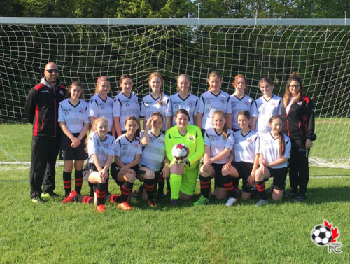 Cavan FC U14 Girls team